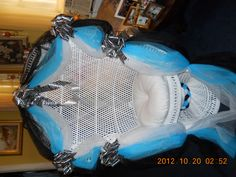 Blue/Black/Tiger print Chair