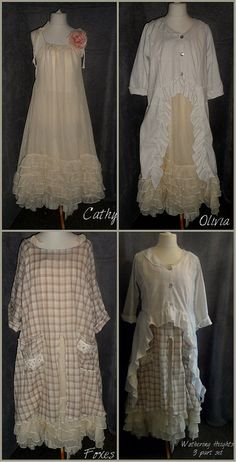 Lagenlook Prairie Girl French Style Country by OpalescentPearl
