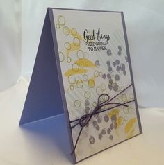 Stamping at The Warren: A Subtle Layering Love Meets Playful Pallet using Stampin' Up! Products