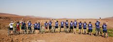 The 2018 RMB Namibia Ride for Rhinos mountain bike event gets into gear in less than a month's time, with the vitally important aim of assisting Save the Rhino Trust Namibia. Bike Events, Save The Rhino, Rhinos, African Safari, Mountain Biking, Wilderness, Trust, Dolores Park, Camping