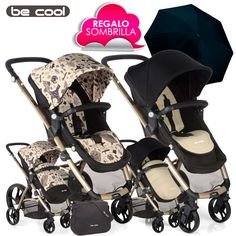 Silla de Paseo SLIDE de Be Cool BOHO Birds vs Ivory 2016