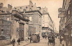 Paris 2e - La rue des Petits-Champs et la Bibliothèque nationale.