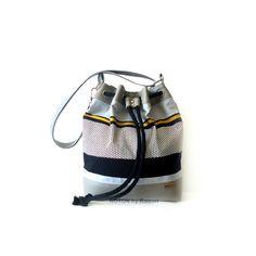 Grey Vegan Bucket Bag, by NOTONbyRaquel  https://www.etsy.com/listing/229536828/grey-vegan-bucket-bag
