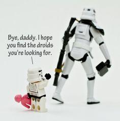 Star Wars - baby trooper