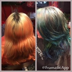Before After fun colors