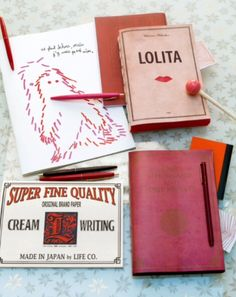 """This paper ware is from our feature """"Santa's Stationery"""""""