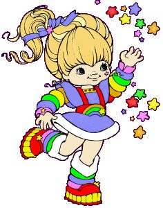 When I was a kid, I really wanted to BE Rainbow Brite. I think I saw the movie as many times as I could. #rainbowbrite #cosplay