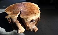 natúr faanyagból organikus bútor, k Natural Wood Furniture, Rustic Furniture, Fa, Do It Yourself Projects, Wabi Sabi, Wood Design, Industrial Design, Crafts, Vintage