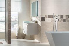 Obklady do koupelny v imitaci textilu v jemných světlých barvách doplněné o patchworkové dekory. To je nadčasová série Next. Obklady nabízíme ve formátu 30 x 60 cm. #keramikasoukup #koupelnyodsoukupa #next #bathroom #inspirace #inspo #textil #patchwork #obkladyadlazby #basic Bathtub, Bathroom, Scrappy Quilts, Standing Bath, Washroom, Bathtubs, Bath Tube, Full Bath, Bath