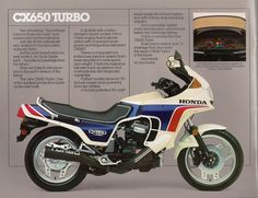 https://flic.kr/p/qx4xmT | 1983 Honda CX650 Turbo Brochure Page 5