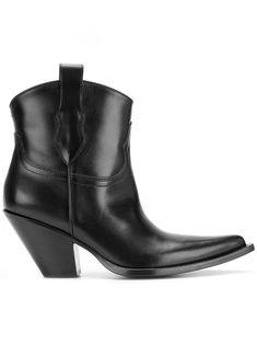 06bf9ddd1e16 Maison Margiela Mid-Calf Western Boots Mid Calf Boots