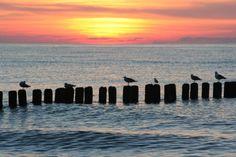 Zachód słońca w Niechorzu. Fot. radio RMF FM