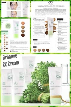 Arbonne CC Cream... 10-in-1 multitasking formula! With a built in Primer, Concealer  Foundation... It's a beauty must have for busy women!