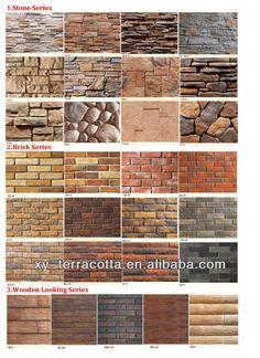 Guangzhou Foshan brick wall panels for exterior Brick Wall Paneling, Brick Arch, Brick Walls, Faux Stone Panels, Faux Panels, Arch Doorway, Interior Design Books, Wall Exterior, Terracota