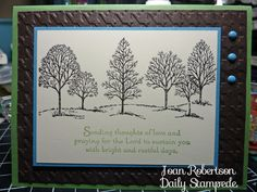 Stampin' Up!'s Lovely as a Tree part 2