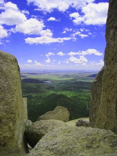 View from Window Rock, Philmont Scout Ranch, New Mexico