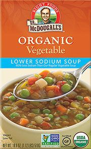 McDougall's Ready To Serve Organic LS Vegetable Soup