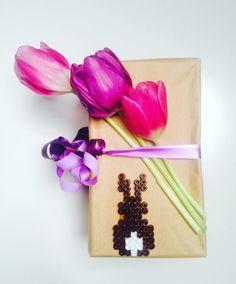 DIY Ostergeschenkverpackung l Ostern l Geschenkverpackung selber machen l Bügelperlen