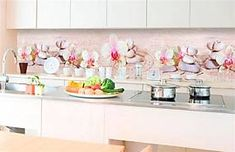 Samolepiace tapety za kuchynskú linku, rozmer 350 cm x 60 cm, ZEN kvetiny, DIMEX KI-350-057 Zen, Home Decor, Decoration Home, Room Decor, Home Interior Design, Home Decoration, Interior Design