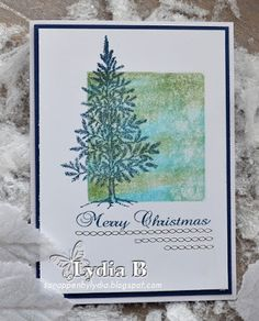 Pan Pastel BNL / Lydia Bode: Merry Christmas (Lovely as a Tree)