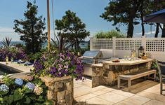 New Seabury Project : Sudbury Design Group Table Centerpieces For Home, Plunge Pool, Island Design, Outdoor Furniture Sets, Outdoor Decor, Nantucket, Landscape Design, Luxury Homes, Cape Cod