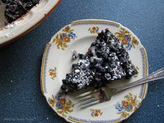 The Moose Curry Experience: Berries to Crow About Pie Recipes, Dessert Recipes, Healthy Recipes, Desserts, Clafoutis Recipes, Baked Goods, Blueberry, Berries, Crow