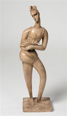 Jacques Lipchitz | Jacques Lipchitz, Hostler , 1914, Plaster, National Museum of Modern ...