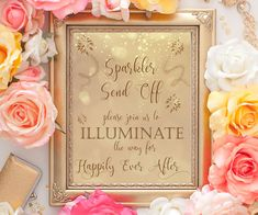 70% OFF Sparkler send off printable wedding by PrintableEventsCo