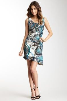 Vertigo Printed Sleeveless Dress