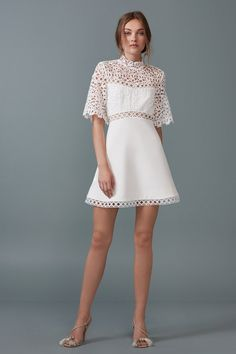 5df3e669b103 Shop the Uplifted Mini Dress in Ivory from BOTANY, the latest collection by  Keepsake The Label.