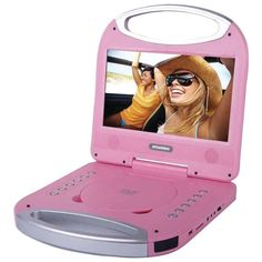 Sylvania SDVD1052-PINK 10 Portable DVD Player with Integrated Handle (Pink)