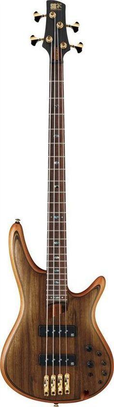 Ibanez SR1200E VNF Premium Series Bass Guitar | Vintage Natural Flat
