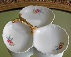Open Sugar Serving Dish or Re-purposed Q Tip or Tooth Pick Holder Diamond Pattern and Scalloped Rim Milk Glass Sugar Bowl with Handles