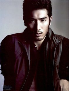 Okay. So Godfrey Gao is super hot. So excited for the movie!(:
