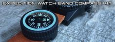 Expedition Watch Band Compass Kit