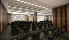 foyer auditório empreendimentos comerciais - Pesquisa Google Conference Room, Office Ideas, Foyer, Table, Furniture, Home Decor, Architecture, Homemade Home Decor, Desk Ideas