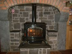 stanley stove stone fireplace cavan