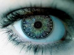 What if a race had intricate fractal patterns instead of lines in their irises?