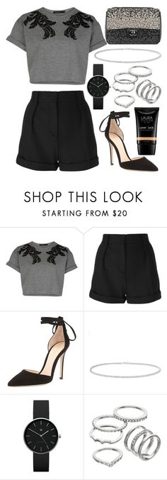 """""""435."""" by plaraa on Polyvore featuring IRO, Gianvito Rossi, Chanel, Anne Sisteron, Newgate, Apt. 9 and Laura Geller"""
