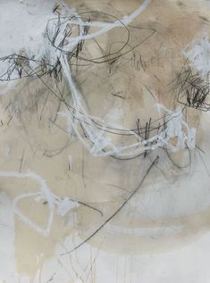 Jason Craighead- studio floor drawing 47 x mixed media on paper 2009 Abstract Drawings, Abstract Art, Abstract Paintings, Collages, Mark Making, White Art, Painting & Drawing, Blind Drawing, Drawing Tips