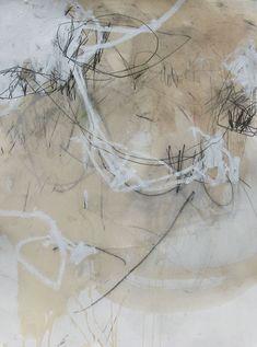 Jason Craighead- studio floor drawing 47  •  22w x 30h  •  mixed media on paper…