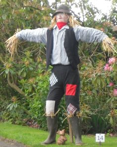 'Just a Scarecrow', winner best 'Traditional' Scarecrow