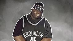 18 Years ago today, the world lost rapper The Notorious B. aka Biggie, but even today his spirit lives on in music, art, culture and basketball. Basketball Tips, Basketball Players, Respect Life, Bed Stuy, Brooklyn Nets, Sports Art, Nba Players, Sports Photos, Top Photo