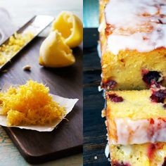 Cranberry Lemon Cake with Lemon Icing Recipe | Key Ingredient