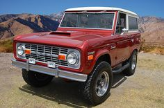 Ford Bronco Ranger fully restored to new condition seen at Fabulous Fords Forever, Buena Park California