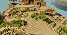pixels Beginners Minecraft because of three simple points, title, replayability and also capability Minecraft Villa, Minecraft World, Architecture Minecraft, Art Minecraft, Minecraft Structures, Minecraft Castle, Minecraft Houses Blueprints, Minecraft Plans, Minecraft House Designs