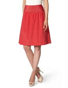 Dotty Skirt, part of the new Outback Red collection at The Limited