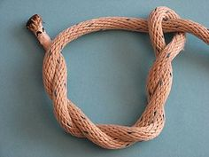 Timber Hitch, The timber hitch is a knot used to attach a single length of rope to a cylindrical object. Secure while tension is maintained, it is easily untied even after heavy loading.