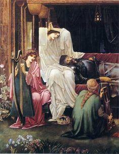 The Last Sleep of Arthur in Avalon (Detail)