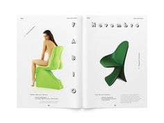 PARQ magazine issue 33 by Valdemar Lamego, via Behance